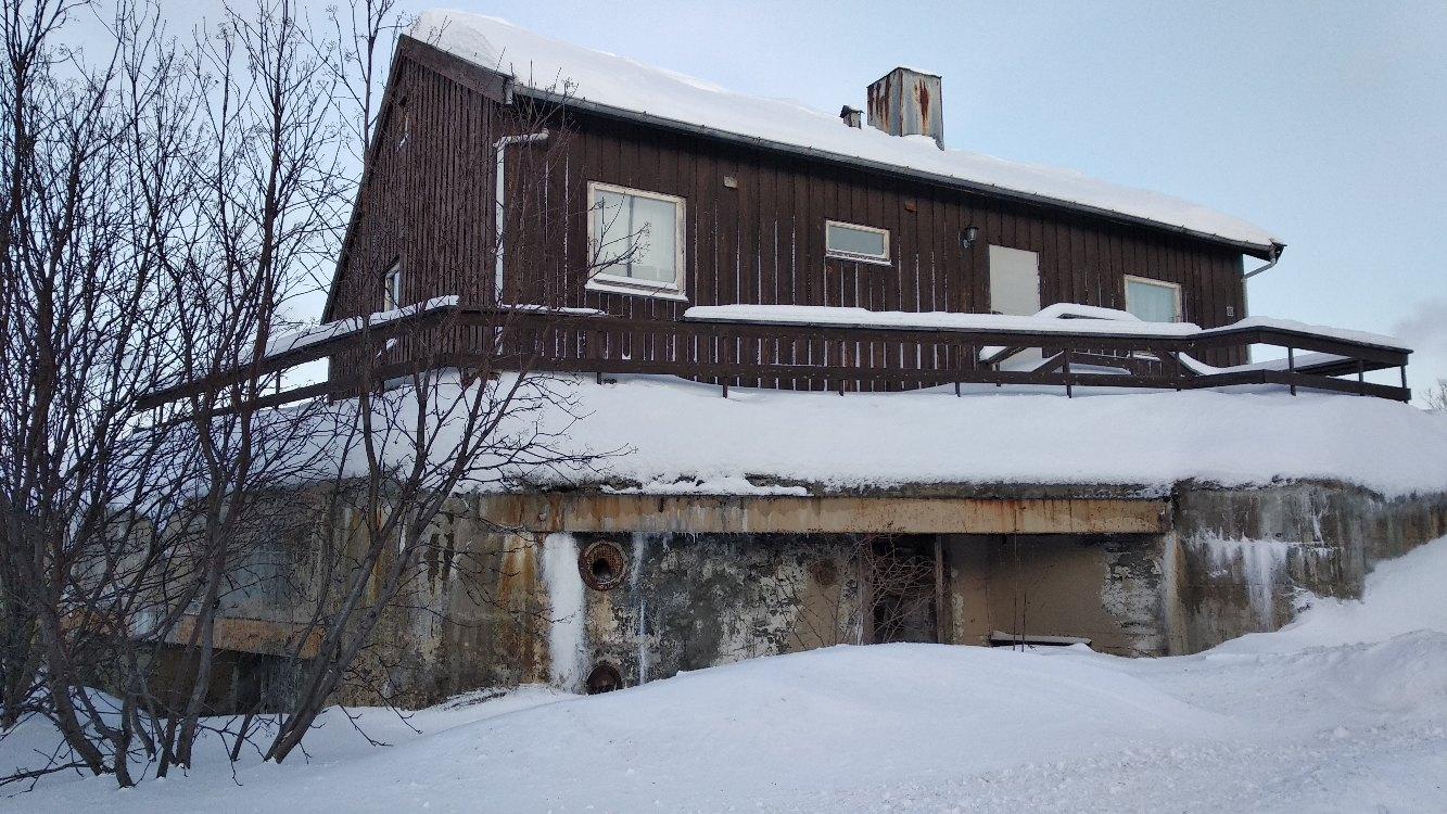 Дом на немецком бункере