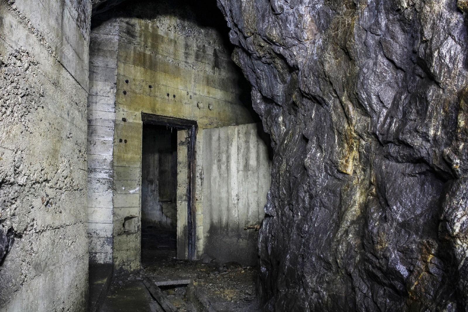 Подземная электростанция (полуостров Немецкий)