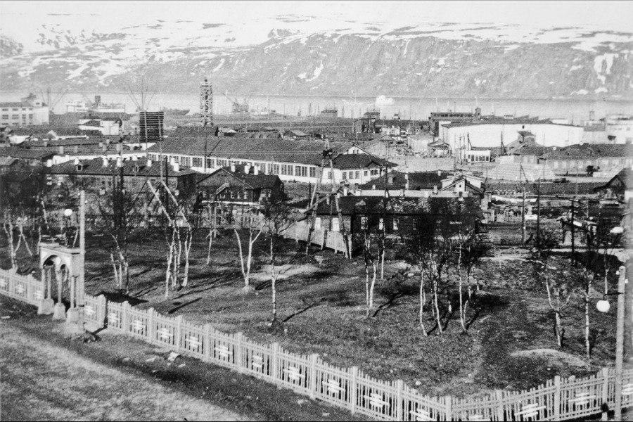 Бомбоубежище в Комсомольском садике