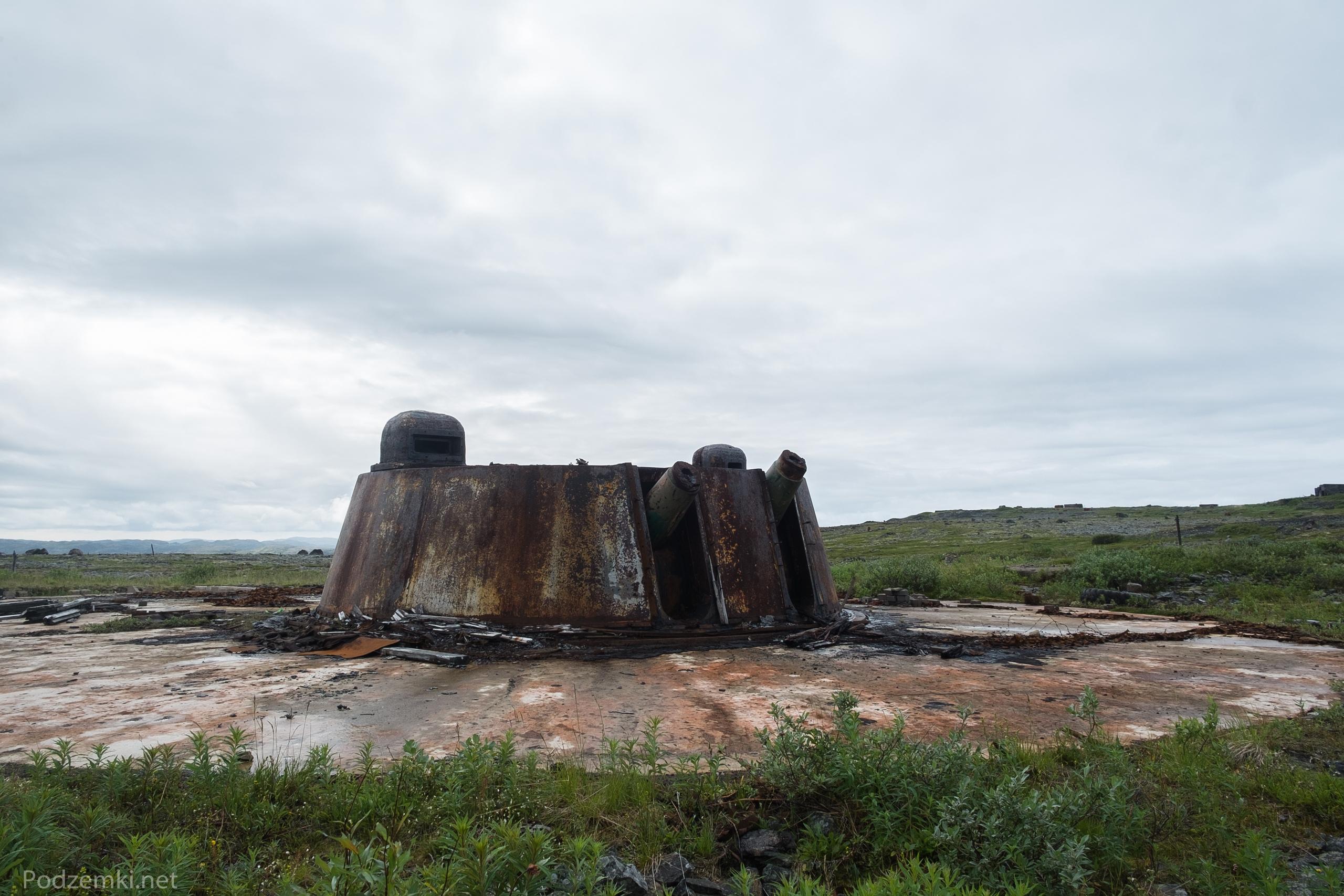Береговая батарея №10 (остров Кильдин)